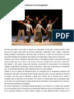 Chorus Perpetuus o La Insistencia en La Transgresión