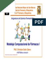 QF Clase 04 Modelaje Computacional de Farmacos