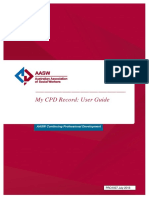 CPD Record User Guide