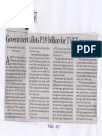 Business Mirror, June 13, 2019, Government allots P3.9billion for TVET programs.pdf
