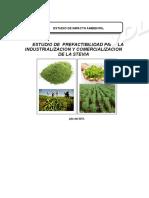 Estudio Impacto Ambiental Stevia