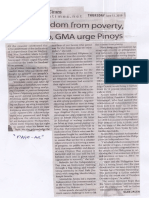 Manila Times, June 13, 2019, Seekfreedom from poverty Robredo GMA urge Pinoys.pdf