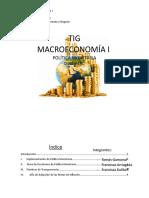TIG MACROECONOMÍA I