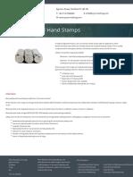 Low stress stamping