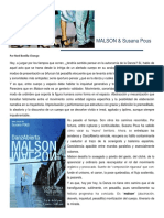 Malson & Susana Pous