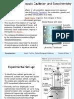 Metodo sonochemistry