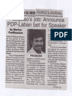Peoples Journal, June 13, 2019, Pacquiao job Announce PDP-Laban bet for Speaker.pdf