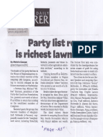 Philippine Daily Inquirer, June 13, 2019, Party list rep is richest lawmaker.pdf