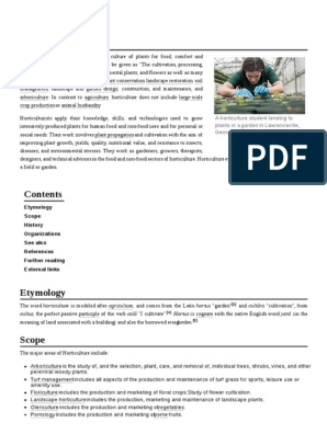 Cover Letter Template General Application | Horticulture ...