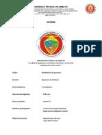 Planificación Del Proyecto Acosta-Mejía