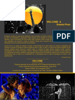 Welcome & Susana Pous