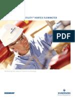 Brochure Utility Vortex Flow Meter 8600 Series Rosemount en 77628