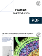 BIBCP WS1819 02 Lecture Intro to Proteins