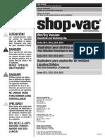 Shop Vac Manual