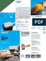 Barrier Gate CAME Gard3 Brochure