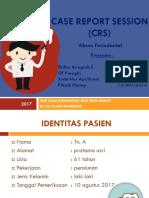 Crs Periodontal Abscess Fix
