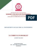 BE Curriculum Booklet 2018-19 Sem-II