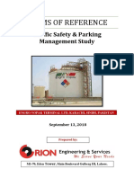 TORs- Traffic Safety & Parking, Management Study