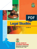 Class XI - Legal Studies - Unit 1
