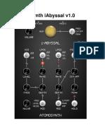 AtomoSynth IAbyssal User Manual 1