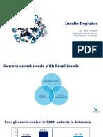 Insulin Degludeg