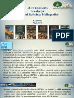 «Сто великих» în colecţia Oficiului Referinţe bibliografice [Resursă electronică]