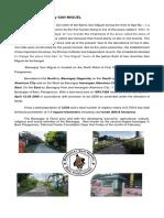 History of the Barangay SAN MIGUEL