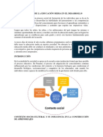 CONTEXTO SOCIAL DE LA EDUCACIÓN MEDIA EN EL DESARROLLO