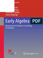 Early Algebra Research Into Its Nature, Its Learning, Its Teaching