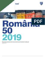 Raportul anual Brand Finance privind cele mai valoroase branduri românești