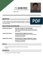 Eugene Resume