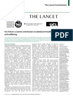A Lancet Commission on Adolescent Health