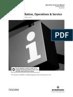 Manual Safety Installation Operations Tescom en 123946