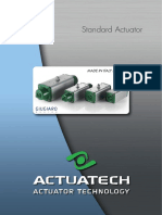 Standard Actuator Brochure