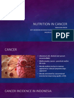 Nutrition in Cancer