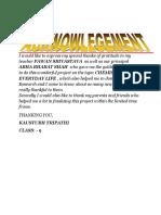 Acknowledgement Sample 01 (1)