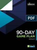 0 90 Day Game Plan Free PDF Template Download