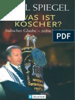 Spiegel, Paul - Was Ist Koscher - Juedischer Glaube - Juedisches Leben