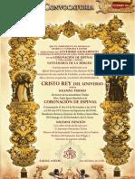 Convocatoria Cultos Cristo Rey de la Hdad. de la Merced 2010