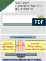 Ppt Komponen Ekosistem Dan Aliran Energi