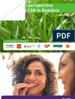 Studiu CSR - Dinamica Si Perspectiva Domeniului CSR in Romania 2019
