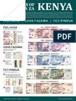 New Kenyan Currency Poster A3 Low Resolution