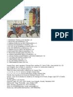 Joaquín Díaz - Romances Del Cid (Lista de Títulos, Portada y Créditos)
