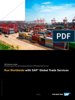 SAP GTS