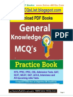 PPSC General Knowledge MCQs Book for Jobs Tests