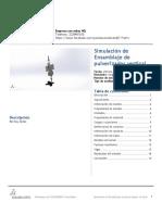 Ensamblaje de Pulverizador Vertical-Análisis Estático 2-1