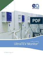 UltraTEV Monitor Technical Info Brochure US
