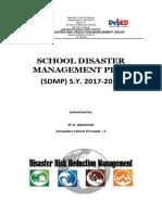 SchoolDisasterManagementPLANS.Y.2017 2018