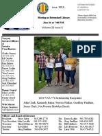 Chapter 776 June 2019 Newsletter