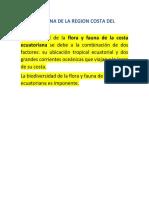 FLORA Y FAUNA DE LA REGION COSTA DEL ECUADOR.docx
